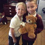 Making our teddy bears better at the teddy bear hospital.